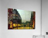 Boar Lane, Leeds  Impression acrylique