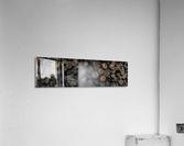 Log Pile  Acrylic Print