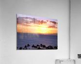 Golden Hawaii  Acrylic Print