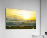 Waves at Sunset  Acrylic Print