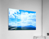 Painted Skies Over the Sawatch  Acrylic Print