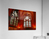 Jeanne d Arc and Saint Croix Cathedral at Orleans   France 6 of 7  Acrylic Print