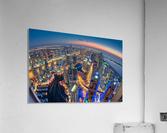 Dubai Colors of Night  Acrylic Print