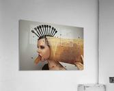 Beekeeping 2073  Acrylic Print