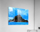 Mont St Michel Panorama  Acrylic Print