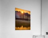 Sunrise at Langley Pond Park   Aiken SC 7R301617 12 19 20  Acrylic Print