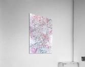 Daltana Pastel Floral Dianola  Acrylic Print