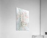 Daltana Pastel Floral Aera  Acrylic Print