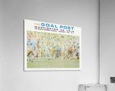 1969 UCLA vs. Washington Football Program Cover Art  Acrylic Print