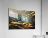 Tuscany Sunrise  Acrylic Print