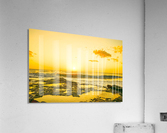 Golden Moment - Sunset Hawaiian Islands  Acrylic Print