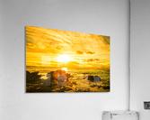 Majestic Sunset - Hawaiian Islands  Acrylic Print