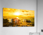 Majestic Sunset Panorama - Sunset Hawaiian Islands  Acrylic Print