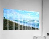 Blue Day Panorama  Acrylic Print