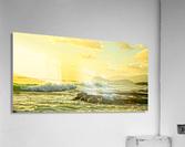 Perfect Day Panorama - Sunset Hawaiian Islands  Acrylic Print