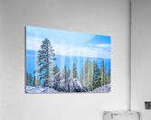 To the Horizon  Acrylic Print