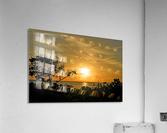 Delicate - Sunset Hawaiian Islands  Acrylic Print