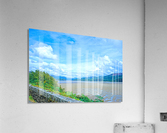 View to Forever Coastal England  Acrylic Print