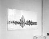 Abu Dhabi Urban Reflection  Acrylic Print