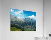 The Bernese Alps Switzerland  Acrylic Print