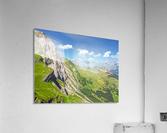 Deep in the Swiss Highlands  Acrylic Print