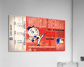 1969 New York Mets Game 5 Ticket Art  Acrylic Print
