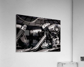Motorcycle Number 1  Acrylic Print
