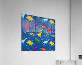 Dinosaurs Royal-Multi  Acrylic Print