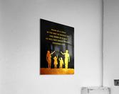 Proverbs 22:6 Bible Verse Wall Art  Acrylic Print