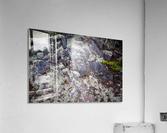 Purple Rocks ap 2289  Acrylic Print