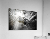Sunlight ap 2048 B&W  Acrylic Print