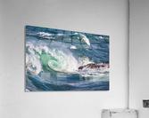 Wave Curl ap 2663  Acrylic Print