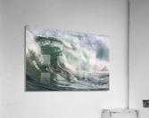 Wave Curl ap 2672  Acrylic Print
