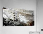 Splash Icicles ap 2147 B&W  Acrylic Print