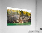 Pictured Rocks ap 2503  Acrylic Print