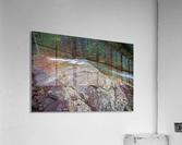 Solid Stone ap 2175  Acrylic Print
