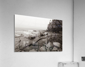 Boulders ap 2256 B&W  Acrylic Print