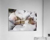 Ice ap 2726 B&W  Acrylic Print