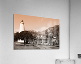 Ocracoke Light ap 1743 B&W  Acrylic Print