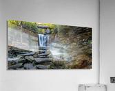 Elakala Falls and Bridge apmi 1775  Acrylic Print