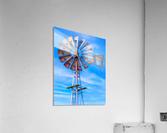 Uncle Sams Windmill  Acrylic Print