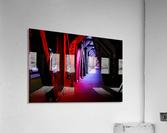 Tunnel of Red Rain  Acrylic Print