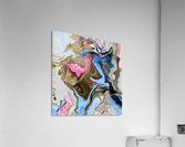 bluepour  Acrylic Print
