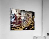 chrome  Acrylic Print