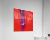 Violet Shape  Acrylic Print