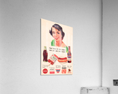 Vintage St. Louis Sportsman Park Concessions Ad  Acrylic Print