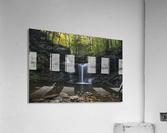 RB Ricketts Falls  Acrylic Print