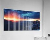 The Grandest Sunset  Acrylic Print