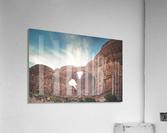 The Double Arch  Acrylic Print