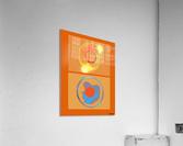 Heat  Acrylic Print